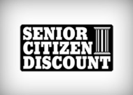STUDENT & SENIOR CITIZEN DISCOUNT!